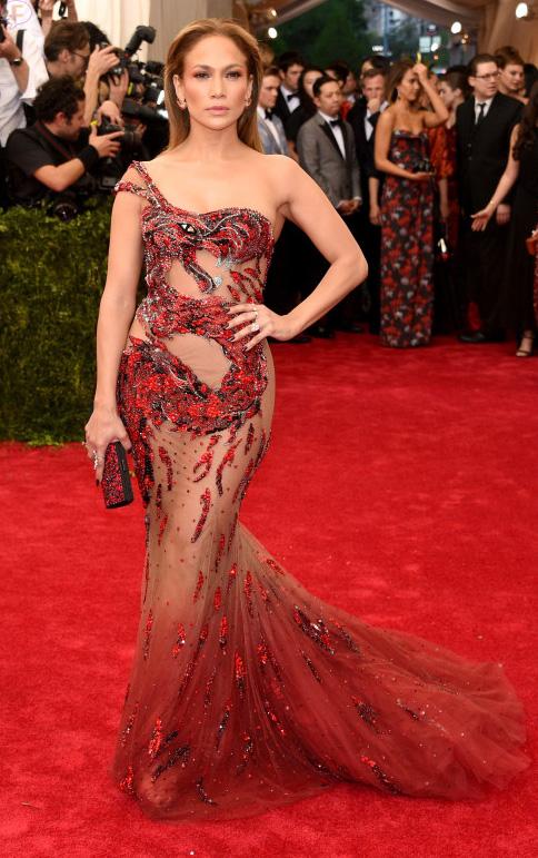 Jennifer Lopez en el MET Gala 2015