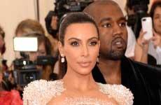 Kim Kardashian en el MET Gala 2015