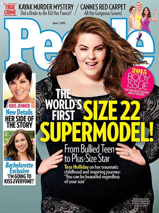 Tess Holliday: 1ra supermodelo talla grande