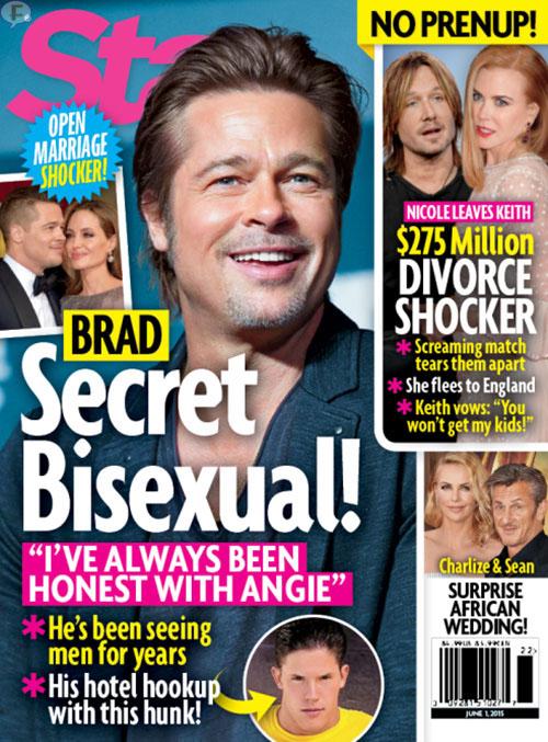 Brad Pitt es Bisexual (Secreto!) - [Chismes de Star]