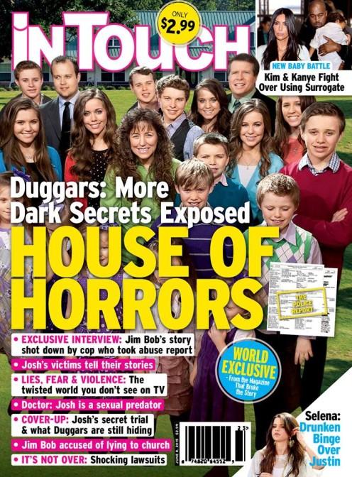 Los Duggars: La casa del Horror [InTouch]