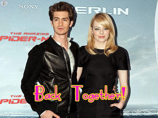 Emma Stone y Andrew Gardfield vuelven! Gossip enlatados