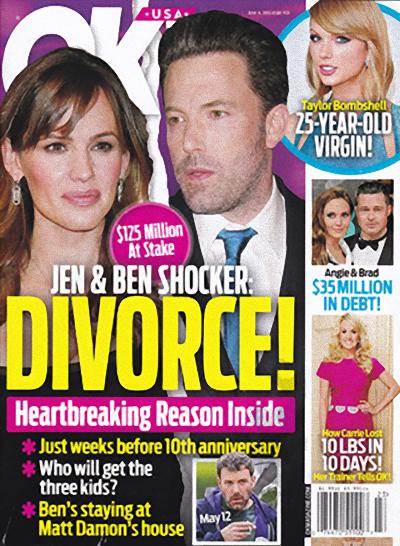 Ben Affleck y Jennifer Garner se divorcian! [OK]