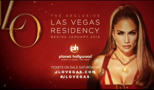Jennifer Lopez anuncia shows en Las Vegas