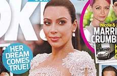 Kim Kardashian embarazada de un varoncito – [OK!]