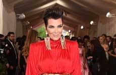 Kris Jenner en el MET Gala 2015