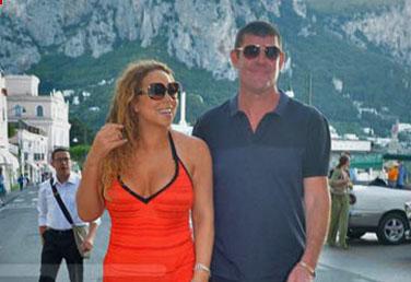 Mariah Carey saliendo con el multimillonario James Packer