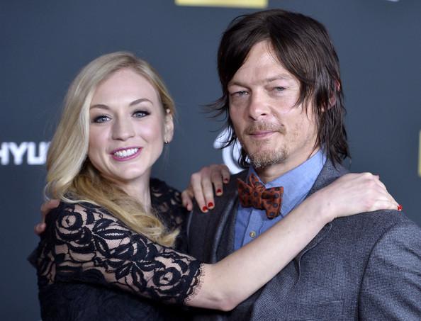 Walking Dead: Norman Reedus y Emily Kinney saliendo?