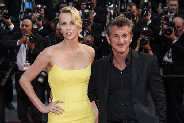 Charlize Theron dejó de hablarle a Sean Penn en Cannes