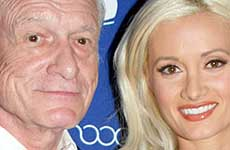 Hugh Hefner le responde a Holly Madison