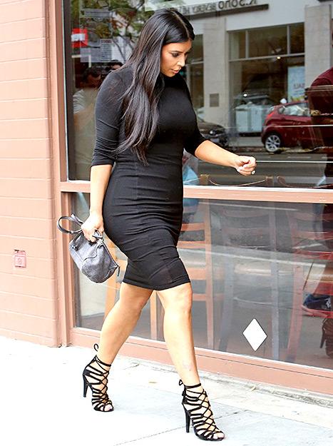 Kim Kardashian y Kanye West esperan un mini Kanye!