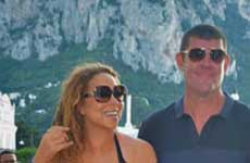 Mariah Carey saliendo con el multimillonario James Packer