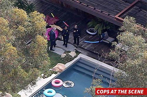 Hallan hombre muerto en la piscina de Demi Moore