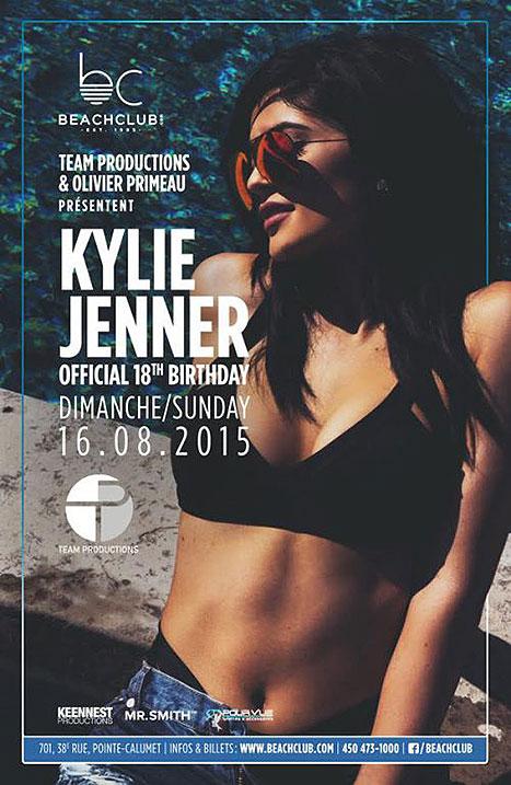 Kylie Jenner celebrará sus 18 años en Canadá