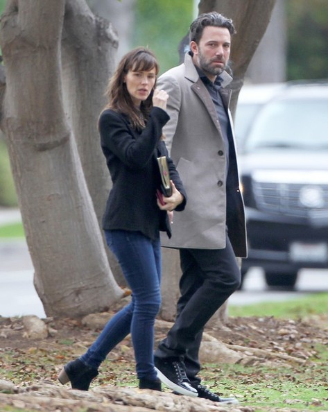 Ben Affleck y Jennifer Garner de vacaciones con sus hijos