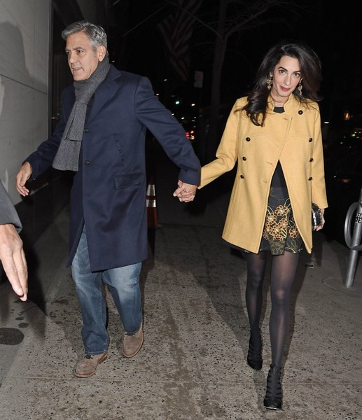 George Clooney y Amal Alamuddin listos para un baby
