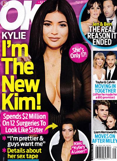 Kylie Jenner: Soy la Nueva Kim! Cirugías y todo! [OK]