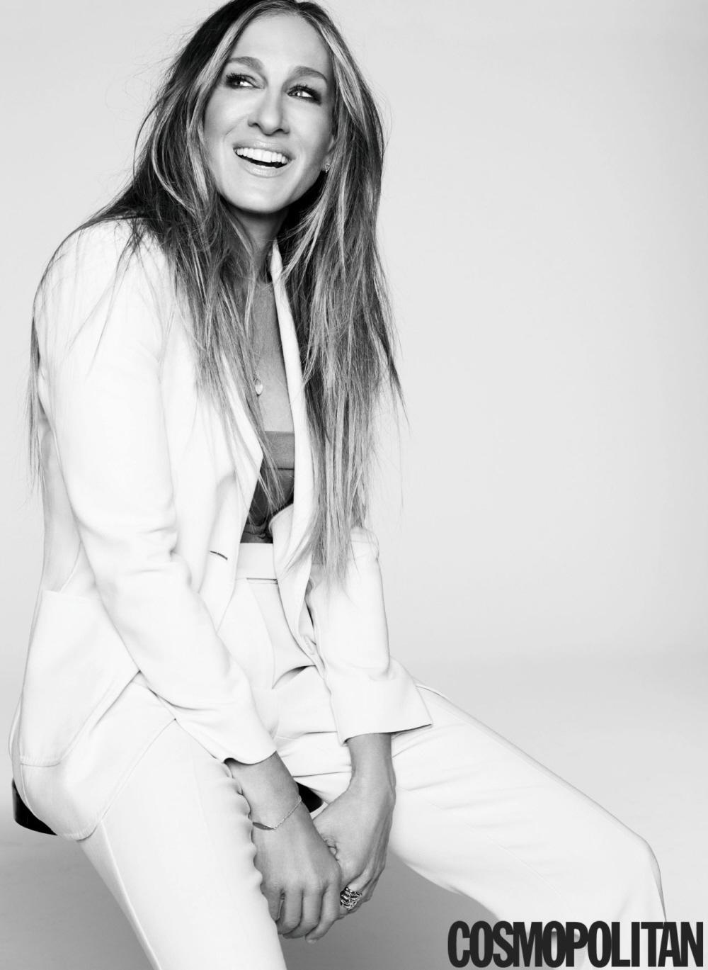 Sarah Jessica Parker habla de SATC3 en Cosmopolitan