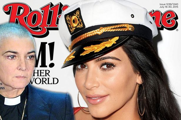 Sinead O'Connor y la portada Rolling Stone con Kim Kardashian