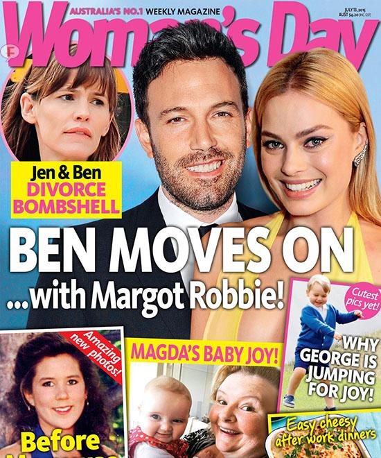 Ben Affleck relacionado con Margot Robbie! [Woman's Day]