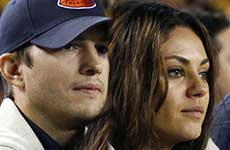 Ashton Kutcher y Mila Kunis se casaron el finde!