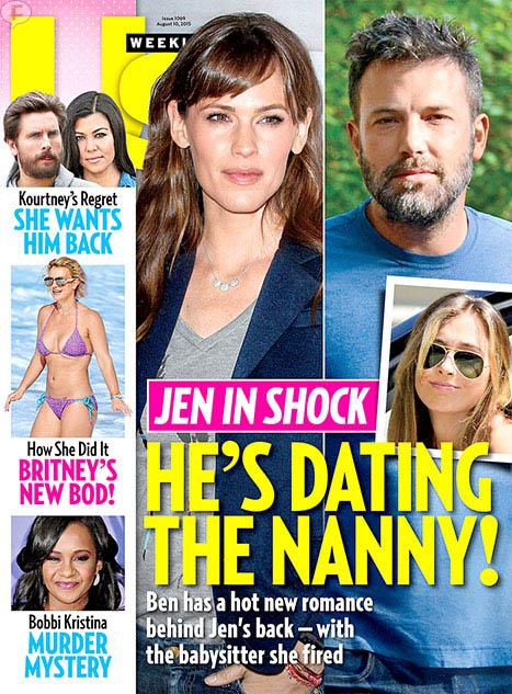 Ben Affleck ha estado saliendo con la nanny de sus hijos