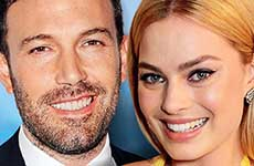 Ben Affleck relacionado con Margot Robbie! [Woman's Day]