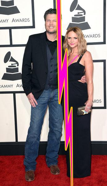 Blake Shelton y Miranda Lambert se divorcian!