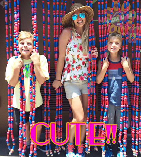 Britney Spears y sus hijos - Super CUTE!
