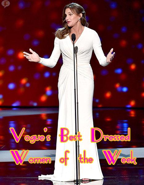 Caitlyn Jenner: Una de las mejores vestidas de la semana Vogue