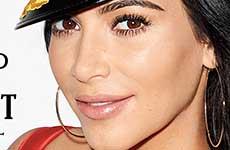 Kim Kardashian en Rolling Stone magazine
