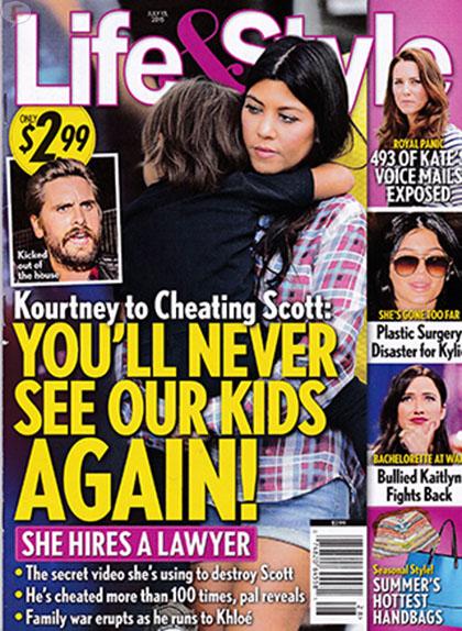 Scott Disick con ex novia - Kourt amenaza con los niños [L&S]