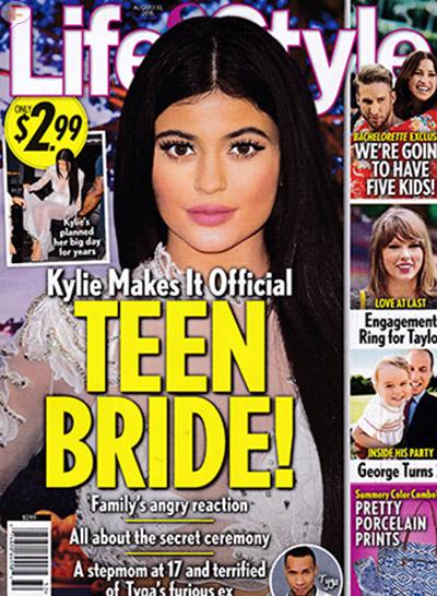 Kylie Jenner se casó con Tyga en secreto! [Life&Style]