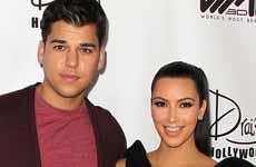 Rob Kardashian furioso con Kim por comentarios en Rolling Stone
