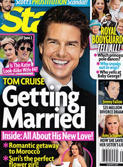 Tom Cruise se va a casar con su asistente Emily Thomas? [Star]