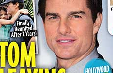 Tom Cruise deja la Scientology? [Chismes de Star]