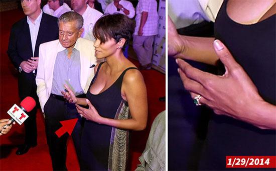 Halle Berry no se divorcia, solo perdió su anillo