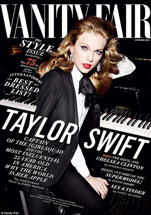 Taylor Swift y la importancia de la amistad [Vanity Fair]