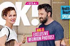 Jennifer Garner ya no se quiere divorciar de Ben Affleck? [OK!]