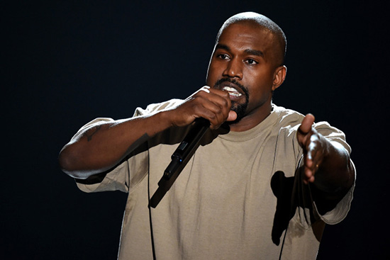 Ganadores Video Music Awards 2015 - Discurso de Kanye