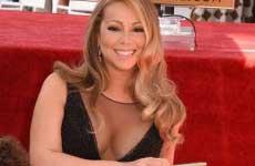 Mariah Carey obtuvo su estrella en el Paseo de la Fama