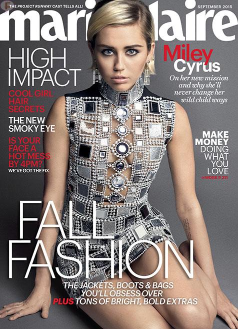 Miley Cyrus critica a Taylor Swift por 'Bad Blood' [Marie Claire]