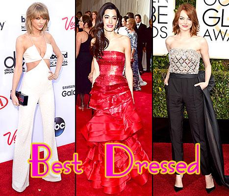 Mejor Vestidos Vanity Fair: Taylor, Amal, Emma, Príncipe Harry