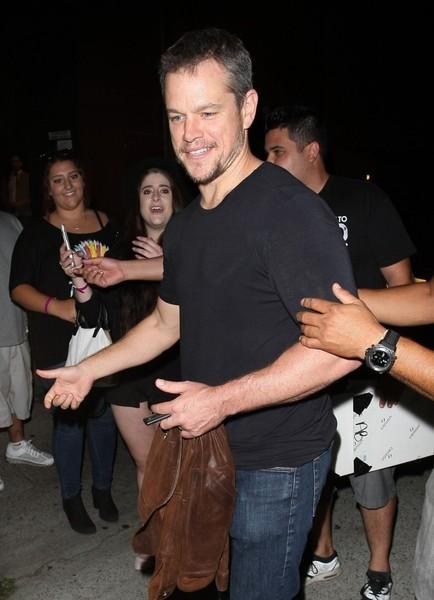 Pic: Matt Damon como Bourne en su nuevo film