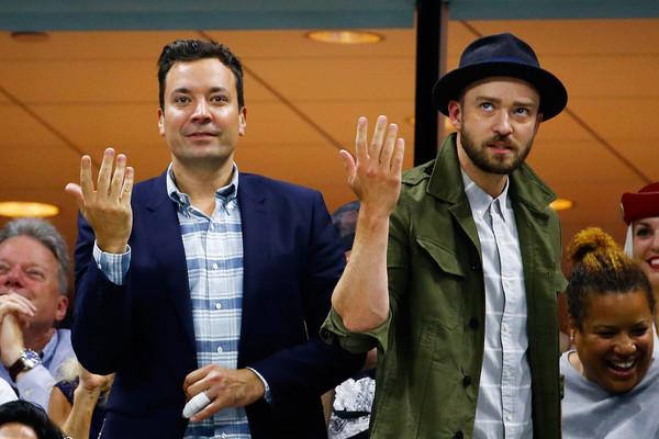 Justin Timberlake muestra pics de su hijo Silas en Fallon Tonight