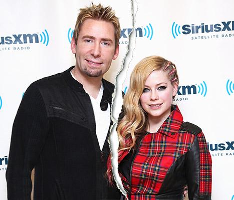 Avril Lavigne y Chad Kroeger se separan!!