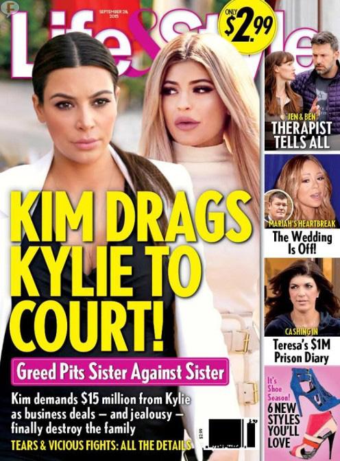 Kim Kardashian lleva a Kylie a la corte!! [L&S]