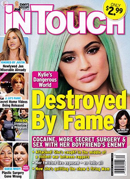 Kylie Jenner destruida por la fama [InTouch]