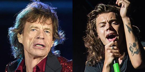 Mick Jagger quiere que Harry Style protagonice su historia