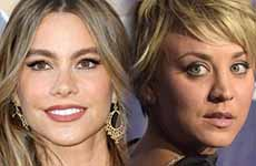 Sofia Vergara Kaley Cuoco: Actrices Mejor Pagadas de TV